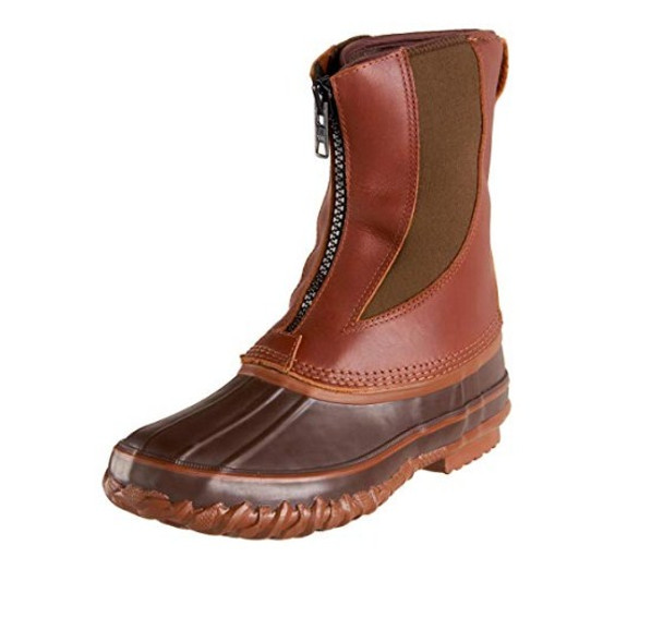 KENETREK Bobcat T Zip Brown Boots (KE-SZ428-T)