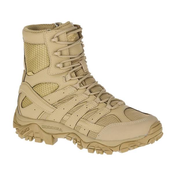 MERRELL Womens Moab 2 8in Tactical Waterproof Coyote Boot (J17722)