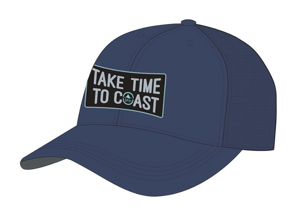 5FIN Mens Coast Estate Blue Trucker Hat (MFC1006-ESBL-1)