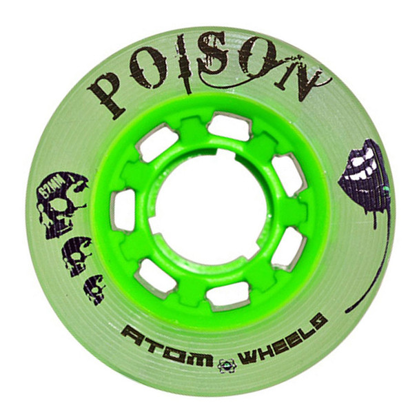 ATOM SKATES Poison Slim 84A Green Skate Wheels (QWA3100.GN.623)
