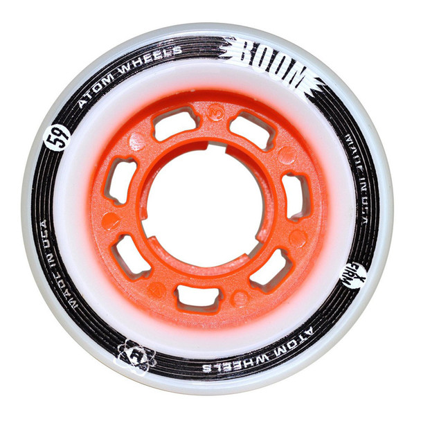 ATOM SKATES Boom X-Firm Orange Skate Wheels (QWA4250.OR)