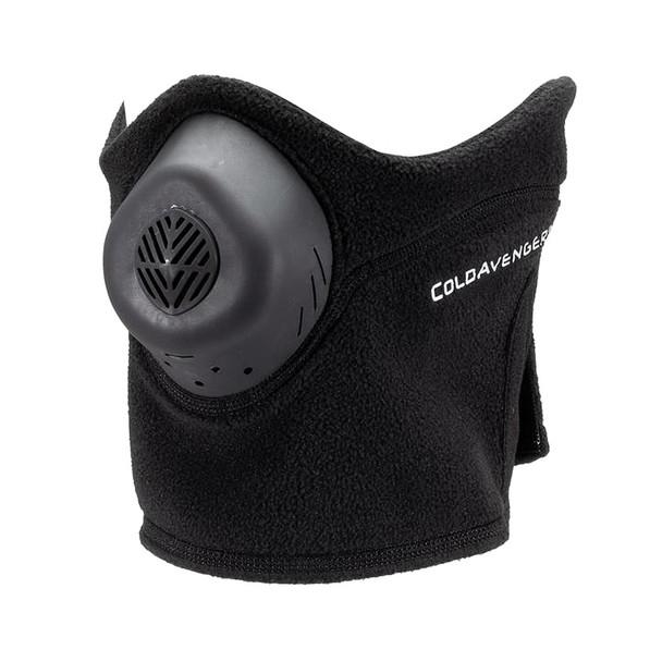 COLDAVENGER Classic Fleece Black Half-Mask (CAC-REG-BLK.18)