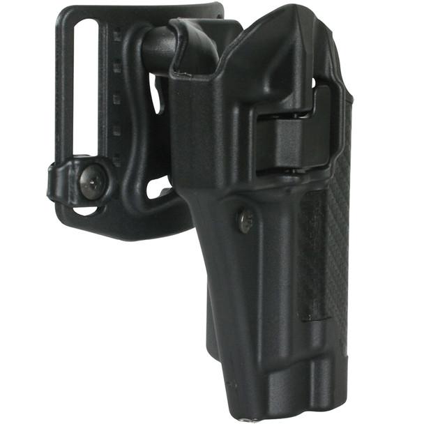BLACKHAWK Serpa CQ For Glock 17 RH Black Belt Holster (410000BK-R)