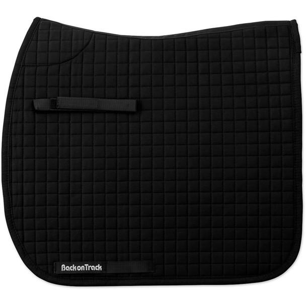 BACK ON TRACK Dressage Black Saddle Pad (21300000)