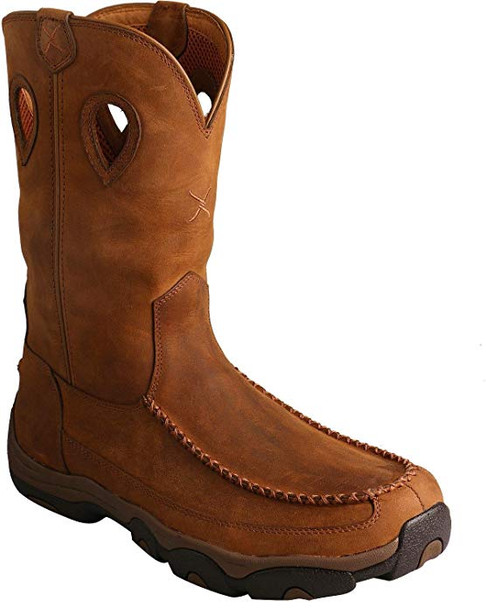 TWISTED X Mens Hiker Distressed Saddle/Saddle Boot (MHKB002)