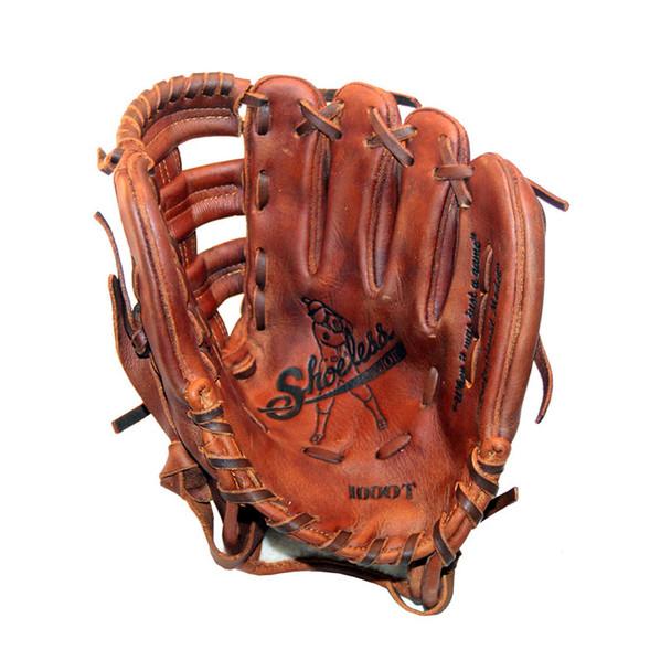 SHOELESS JOE BALLGLOVES 10in I Web Right Hand Throw Training Glove (1000IWTR)
