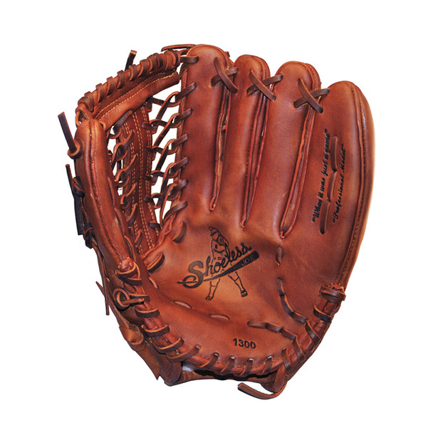 SHOELESS JOE BALLGLOVES 13in Modified Trap Left Hand/Right Hand Throw Glove (1300MT)