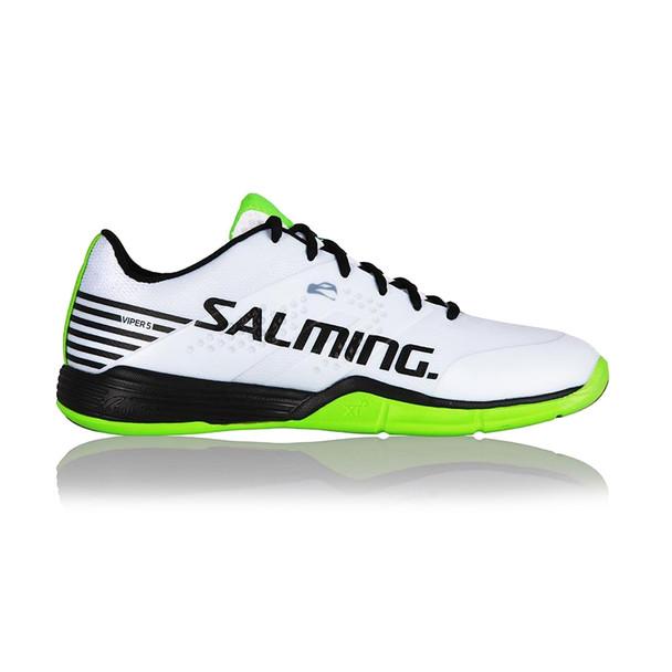 SALMING Mens Viper 5 White/Black Shoe (1238071-0701)