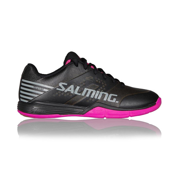 SALMING Womens Viper 5 Black/Pink Jewel Shoe (1238075-0151)