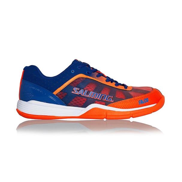 SALMING Mens Falco Limoges Blue/Orange Flame Shoe (1238087-0308)