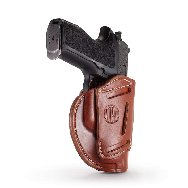 1791 GUNLEATHER 4WH 4 Way Classic Brown RH size 3 Holster (4WH-3-CBR-R)