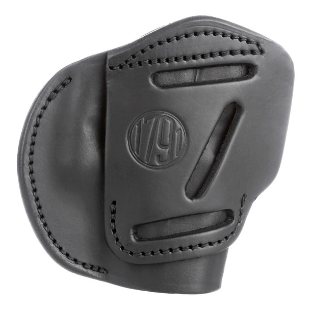 1791 GUNLEATHER 4WH 4 Way Stealth Black RH size 4 Holster (4WH-4-SBL-R)