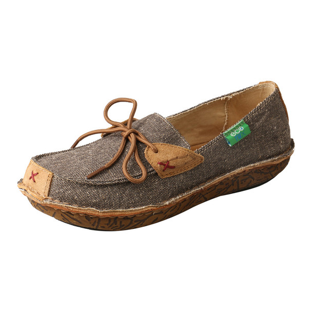 TWISTED X Womens Eco TWX Driving Dust Wrapped Shoe (WLW0001)