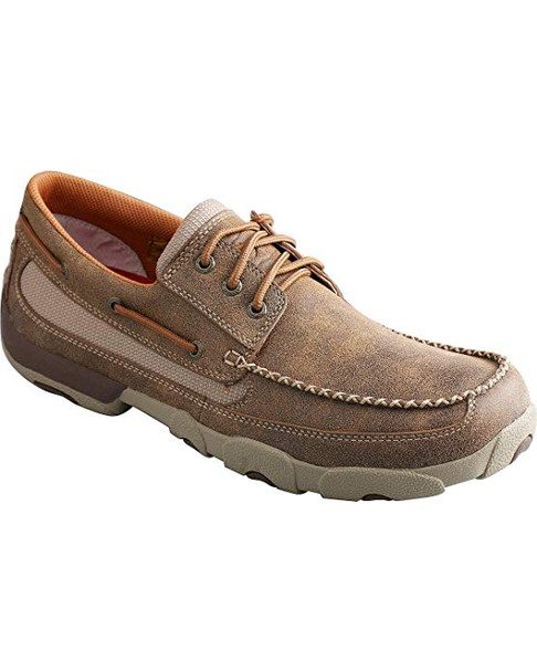 TWISTED X Mens Driving Bomber Moccasins (MDM0023)
