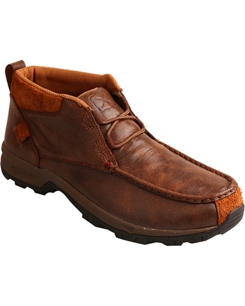 TWISTED X Mens Hiker Brown Shoe (MHKW002)