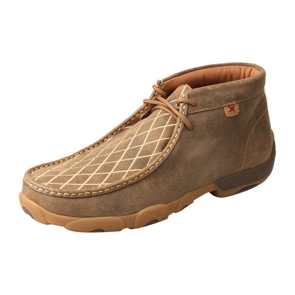 TWISTED X Mens Driving Bomber Moccasins (MDM0076)