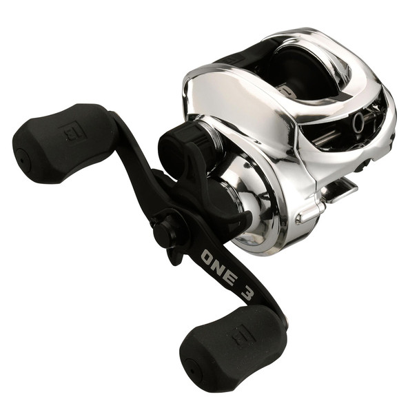 13 FISHING Origin Chrome 8.1:1 Gear Ratio RH Baitcast Reel (OCRM8.1-RH)