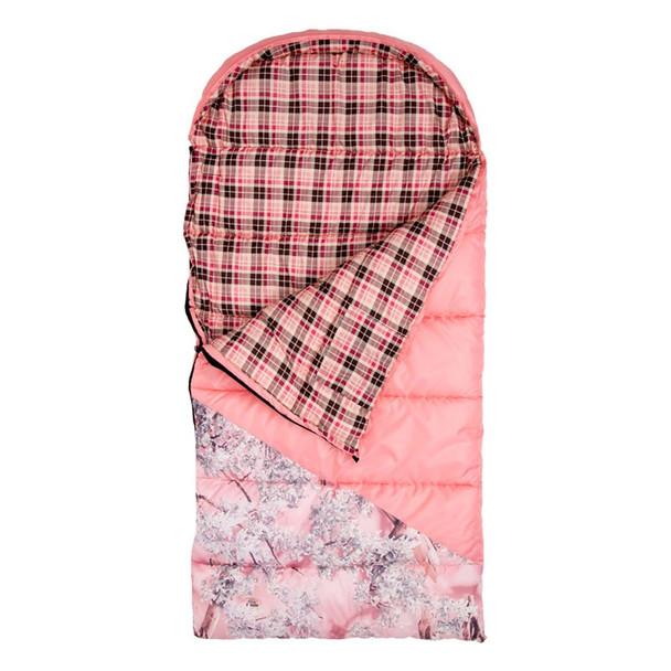 KINGS CAMO Hunter Jr Pink Sleeping Bag with Backpack (KCGK6025-PS)