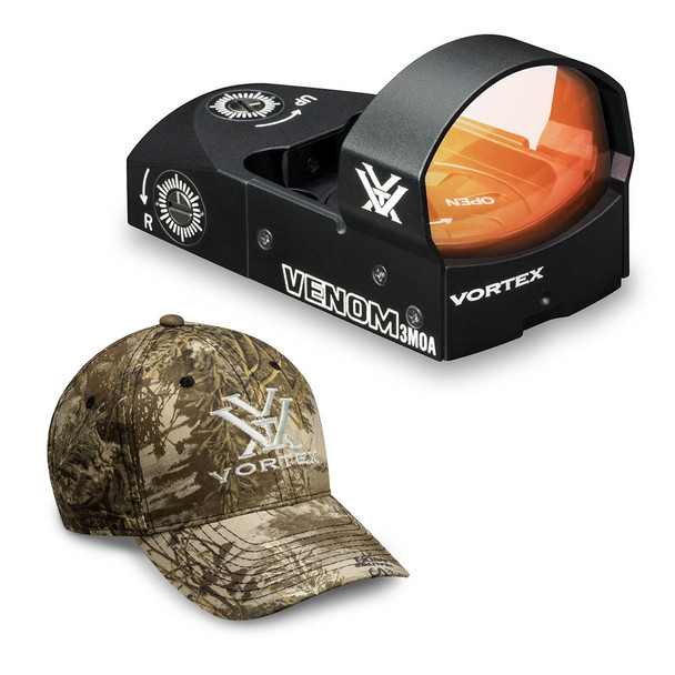 VORTEX Venom 3 MOA Reflex Sight And Men's Cap (VMD-3103+Hat)