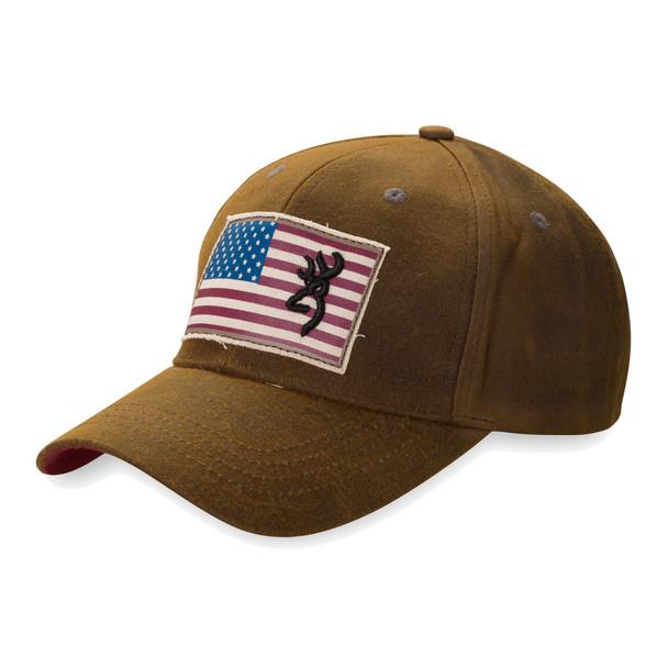 BROWNING Liberty Wax Dark Brown Cap (308776881)