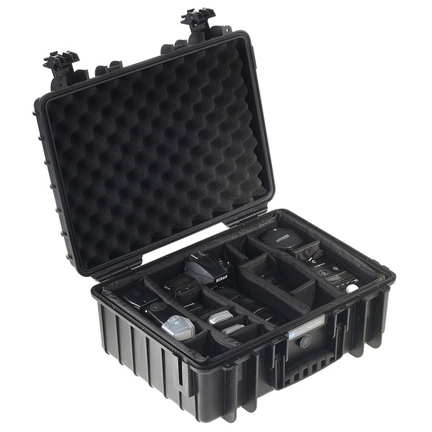 B&W INTERNATIONAL Type 5000 Black Outdoor Case with RPD Insert (5000/B/RPD)