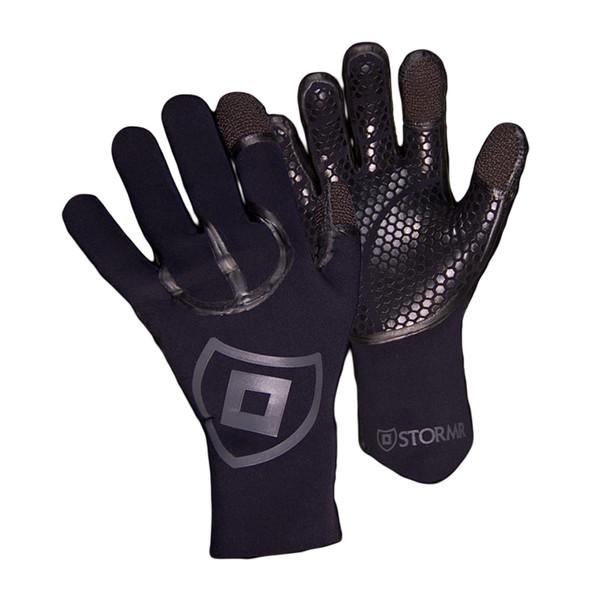 STORMR Cast Black Gloves (RGK30N)