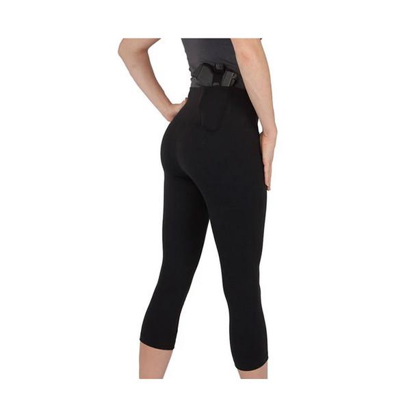 UNDERTECH UNDERCOVER Womens Original Black Concealment Leggings (T1553BK-XL)