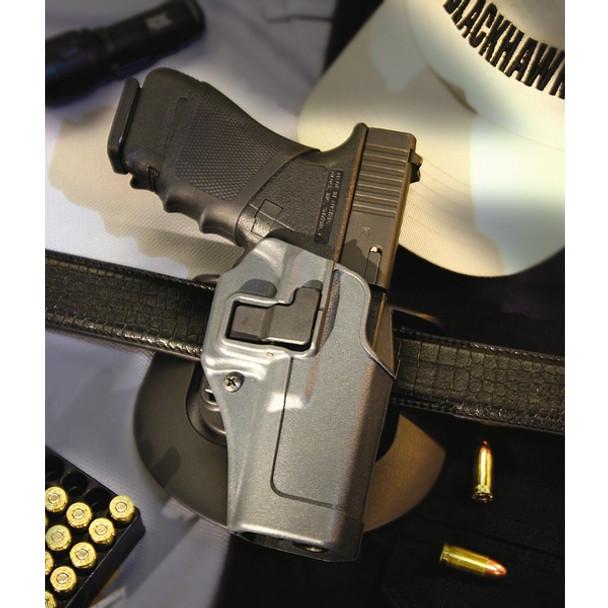 BLACKHAWK Serpa Level 2 Government 1911 Right Hand Sportster Belt Holster (413503BK-R)