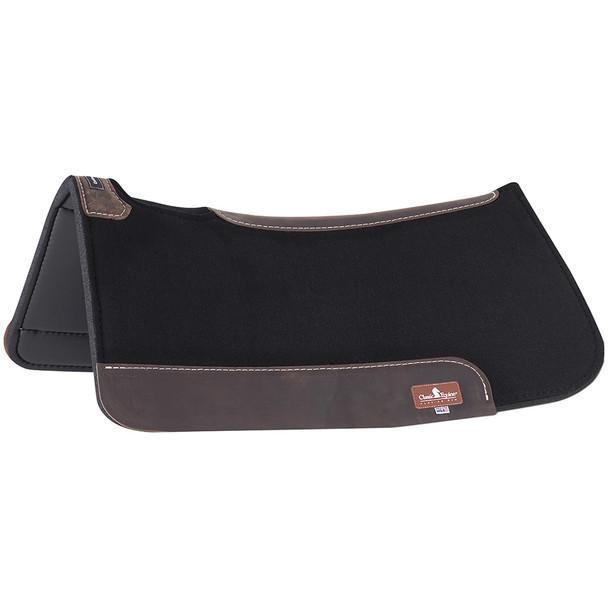 CLASSIC EQUINE Contourpedic 30x30 Black Saddle Pad (COP300CB)