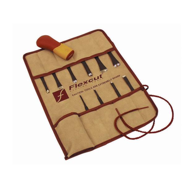FLEXCUT 11-Piece Craft Carver Set (SK107)