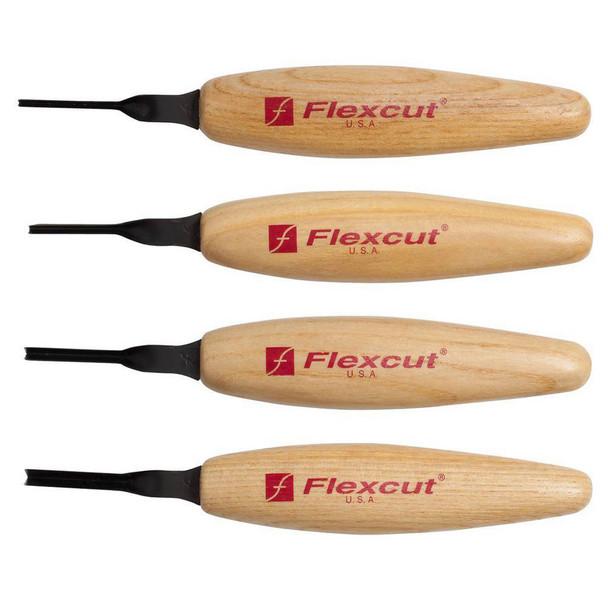 FLEXCUT 45 deg Parting Micro Tool Set (MT600)