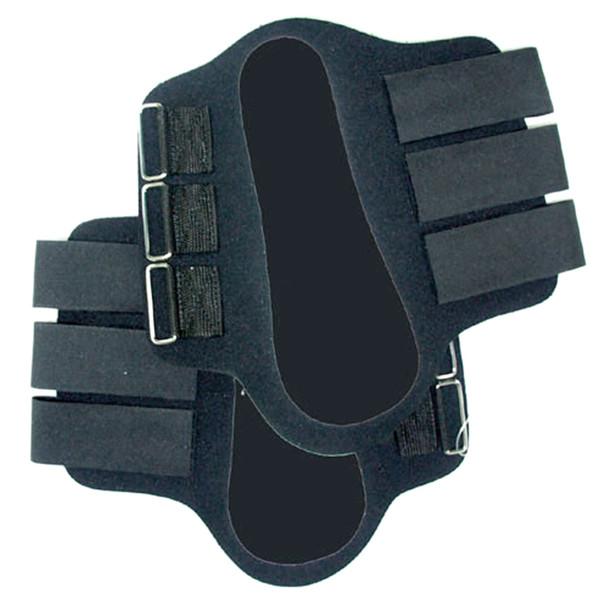INTREPID INTERNATIONAL Draft Horse Black Splint Boots (114281)