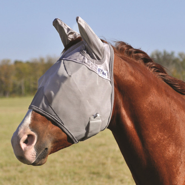 CASHEL Crusader Standard Mule Draft Fly Mask with Ears (CFMMDSE)