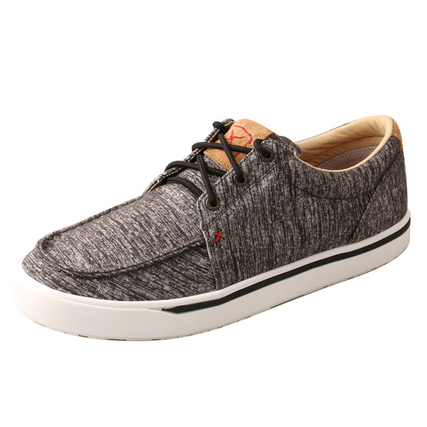 TWISTED X Men's Ñ Toe Dark Grey Casual Shoe (MCA0036)
