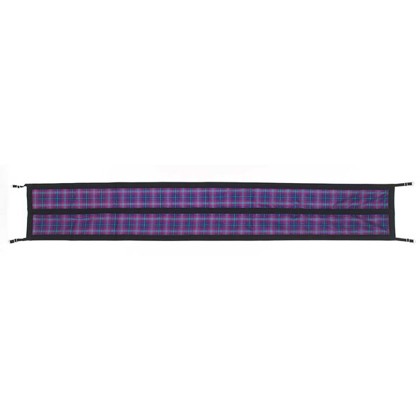 CENTAUR Plaid Lined Aisle Guard (470202ORCPLONE)