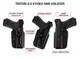 GALCO Triton Glock 17,22,31 Right Hand Polymer IWB Holster (TR224)