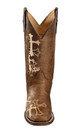 CORRAL Womens Grace Cross Embroidery Brown/Beige Boots (L5042-LD)