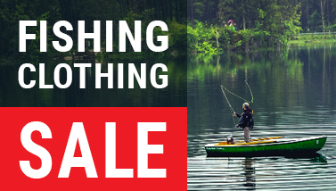 fishing clothes on sale