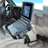 Universal RAM Pod™ III Vehicle Mount with Universal Tough-Tray™ Laptop Holder