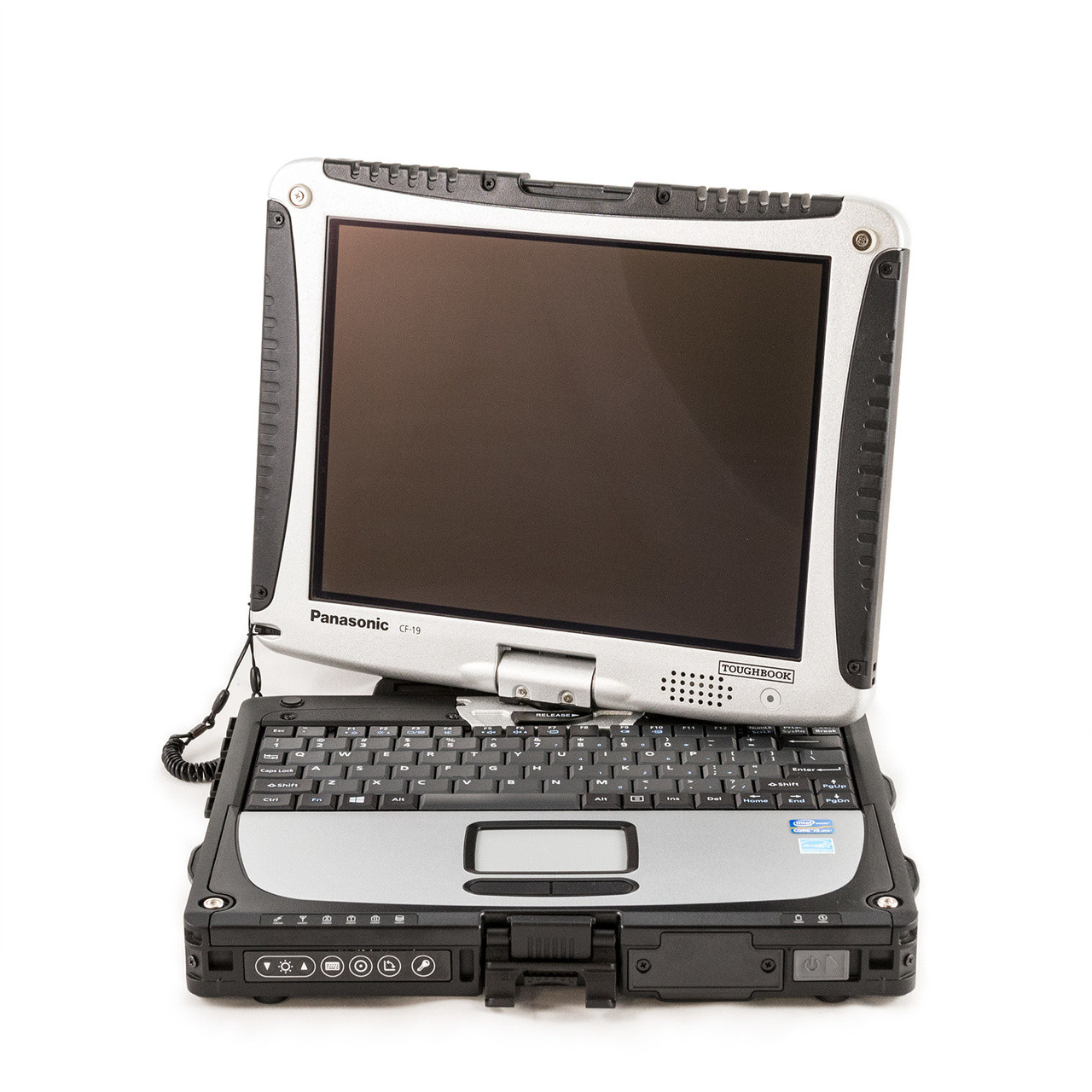 Case w// Port Covers PanasonicToughbook CF-19 MK4 MK5 MK6 Bottom Cover