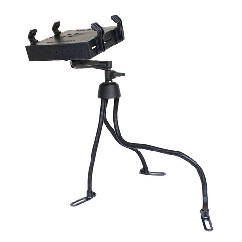 RAM Pod™ III Vehicle Mount with Single Pivot Swing Arm & Universal Tough-Tray™ Laptop Holder (RAM-316-3SW1U)