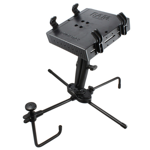 """RAM Seat-Mate™ Universal Laptop Mount for Passenger Seat Fitment - Overall Height 11"""" (RAM-SM1-234-3)"""