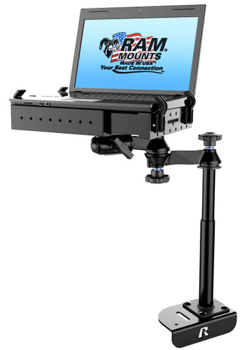 No-Drill™ Laptop Mount for the '14-'21 Ford Transit Full Size Van
