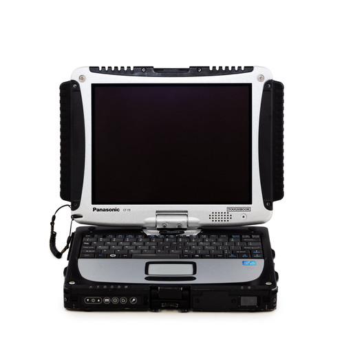 Scratch and dent Toughbook CF-19 MK7 Dual Touch - front