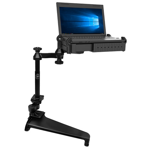 RAM-VB-180-SW1 vehicle mount with laptop