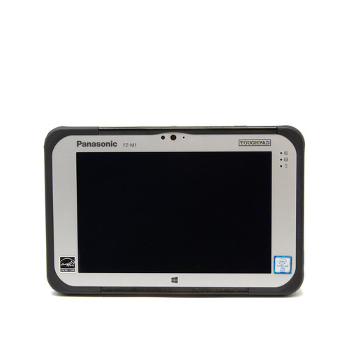 Panasonic Toughpad FZ-M1 MK2 facing front