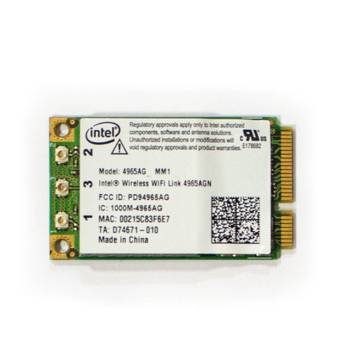Wi-Fi card for Panasonic Toughbook CF-30