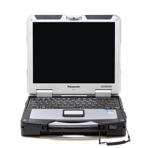 Toughbook CF-31 MK2 front view with backlit keyboard