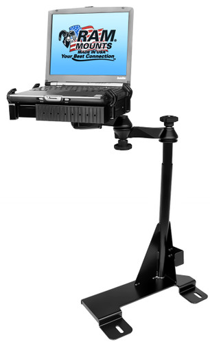 No-Drill™ Laptop Mount for the Ford Econoline Van
