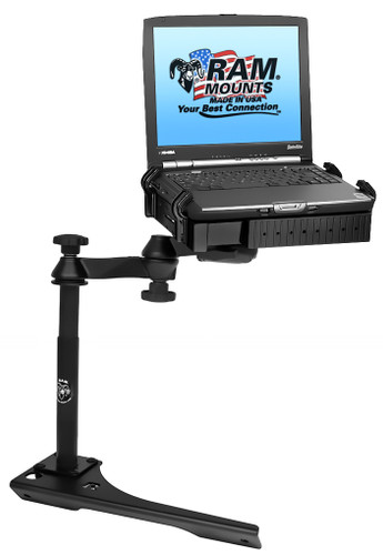 No-Drill™ Laptop Mount for the '11-'21 Dodge Durango, '11-'21 Jeep Grand Cherokee